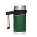Термос-кружка Арктика 406-500 зеленая (с ручкой, + ситечко, 500мл)