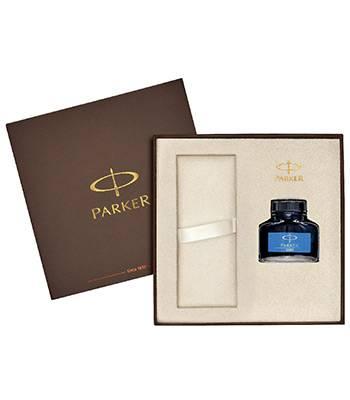 Коробка Parker подарочная 1910532 (с местом для ручки и флаконом с чернилами в комплекте)