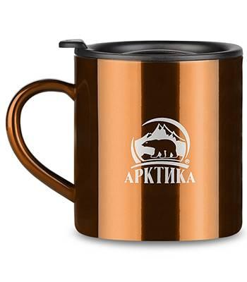 Термокружка Арктика 802-450 (450мл) кофейная
