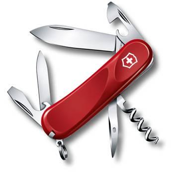 Нож Victorinox 2.3803.E Evolution 10 (85мм, 13 функций, красный)
