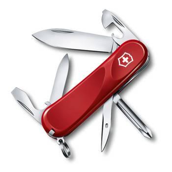 Нож Victorinox 2.4803.E Evolution 11 (85мм ,13 функций, красный)