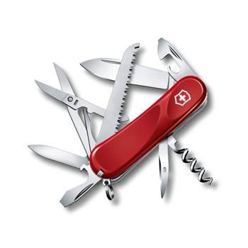 Нож Victorinox 2.3913.E Evolution 17 (85мм, 15 функций, красный)
