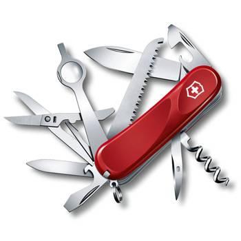 Нож Victorinox 2.5013.E Evolution 23 (85мм, 17 функций, красный)