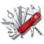 Нож Victorinox 2.5383.E Evolution 28 (85мм, 23 функции, красный)