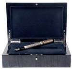 Перьевая ручка Parker Duofold Presidential Esparto Sterling Silver, новая, 2005г., арт.154