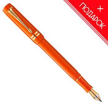 Перьевая ручка F74 Parker Duofold Historical Colors Big Red GT International (1907190)