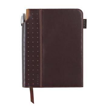 Записная книжка Cross AC236-2M с ручкой (коричн)250страниц