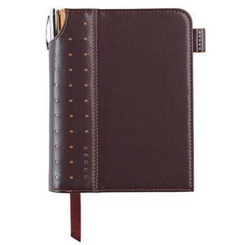 Записная книжка Cross AC236-2S с ручкой (коричн)250страниц