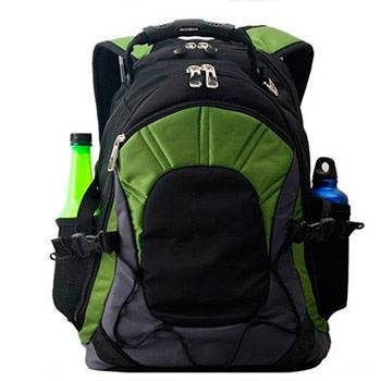 Рюкзак Swisswin SW9663 black/green