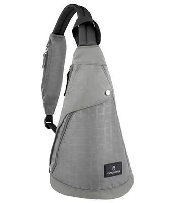 Рюкзак Victorinox 32388804 с одним плечевым ремнём, Monosling (серый, полиэстер Ver, 23х14х41см,13л)