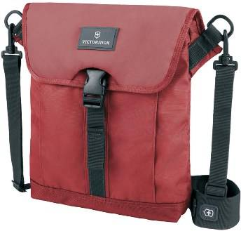Сумка Victorinox 32389203 Altmont™ 3.0 Flapover Bag, красная, нейлон Versatek™, 27x6x32 см, 5 л