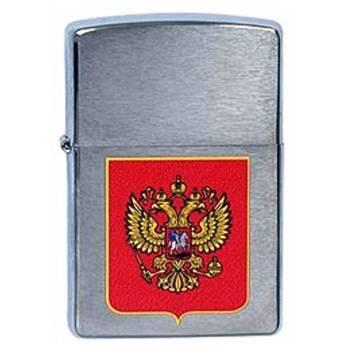 Зажигалка Zippo 200 Герб России