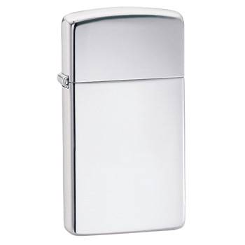Зажигалка Zippo 1610 High Polish Chrome Slim