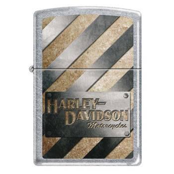 Зажигалка Zippo 207HD Metall Striped