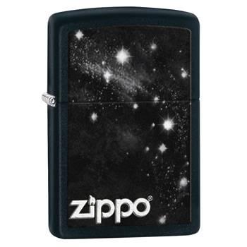 яЗажигалка Zippo 28433 Galaxy Black Matte