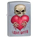 Зажигалка Zippo 28464 Love Bites Street Chrome