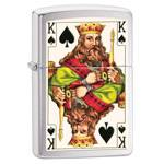 Зажигалка Zippo 28489 King Brushed Chrome