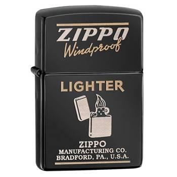 яЗажигалка Zippo 28535 Classic Ebony