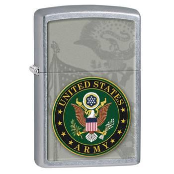 Зажигалка Zippo 28632 US Army Street Chrome