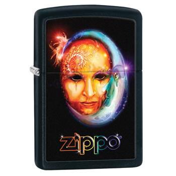 Зажигалка Zippo 28669 Venetian Mask Black Matte