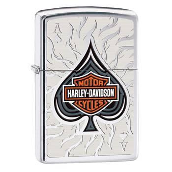 Зажигалка Zippo 28688 Harley-Davidson High Polish Chrome