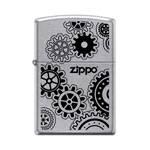 "яЗажигалка""ZIPPO"" 28939 Gears Street Chrome"
