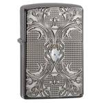 "Зажигалка""ZIPPO"" 28956 Crystal Lattice Black Ice"