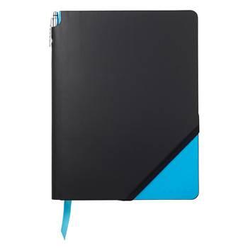 Записная книжка Cross AC273-3L Jot Zone голубой Large 160стр с ручкой