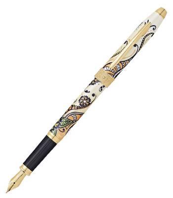 Перьевая ручка Cross Botanica AT0646-1FF Золотая Магнолия