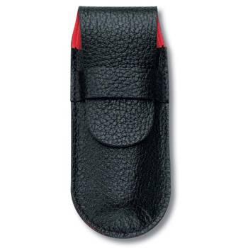 Чехол Victorinox (для ножа 91 мм) 4.0738 (толщиной 2-4 уровня, кожаный, чёрный)