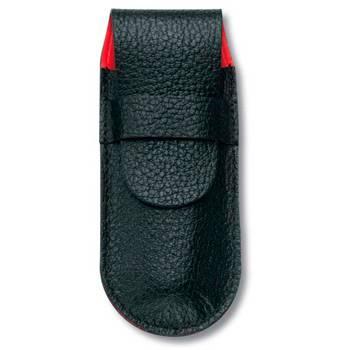 Чехол Victorinox (для ножа 91мм) 4.0740 (толщиной 5-7 уровней, кожаный, чёрный)