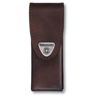 Чехол на ремень Victorinox (для мультитула SwissTool Spirit) 4.0822.L (кожаный, коричневый)