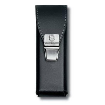 Чехол на ремень Victorinox (для мультитула SwissTool) 4.0823.L2 (пружиння защёлка, кожаный, чёрный)