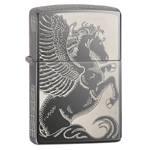 Зажигалка Zippo 28802 Pegasus Black Ice