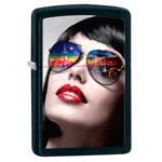 Зажигалка Zippo 29090 New York Sunglasses Black Matte