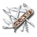 Нож Victorinox 1.3713.941 Huntsman Desert Camouflage офицерский, 91мм, бежевый камуфляж