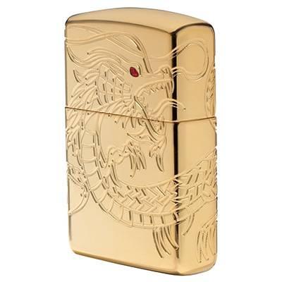 Зажигалка Zippo 29265 Chinese Dragon Gold Plate