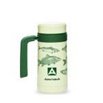 Термос-кружка Арктика 412-500 зеленая (с ручкой, + ситечко, 500мл)
