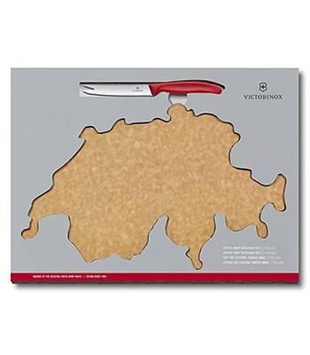 Набор кухонный нож и разделочная доска Victorinox 6.7191.CH