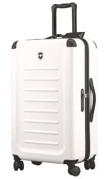 Чемодан Victorinox 31318502 Spectra™ Dual-Access 2.0, белый, поликарбонат Bayer, 47x27x75 см, 70 л