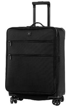 Чемодан Victorinox 32340601 Lexicon™ Dual-Caster, чёрный, баллистич. нейлон TourMax,44x30x61см, 81л