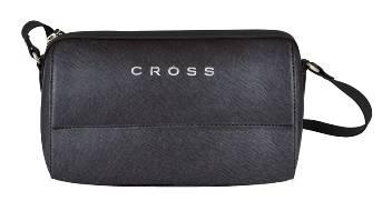 Женская сумка Cross AC981081 кожа, цвет чёрный, 30 x 15 x 24 см