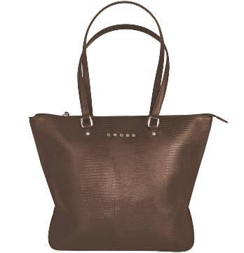 Женская сумка Cross AC987013-2 кожа, цвет коричневый, 42 x 16 x 29 см