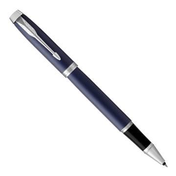 Parker IM Metal 2017 T321 Matte Blue CT ручка-роллер 1931661