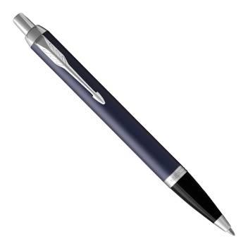 Parker IM Metal 2017 K321 Matte Blue CT шариковая ручка 1931668