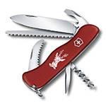 Нож Victorinox 0.8573 Hunter 111мм, красный