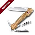 Нож Victorinox Wine Master (арт. 0.9701.64, 130мм 6 функций, рукоять оливковое дерево)