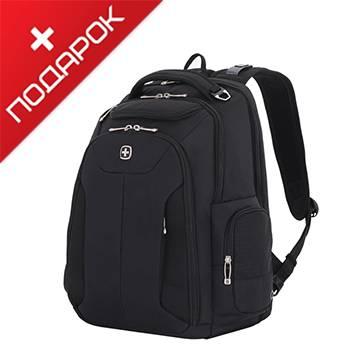 """Рюкзак Wenger 5527200417 чёрный с отделением для ноутбука 17"""",30,5x17,8x45,7 см, 31л"""