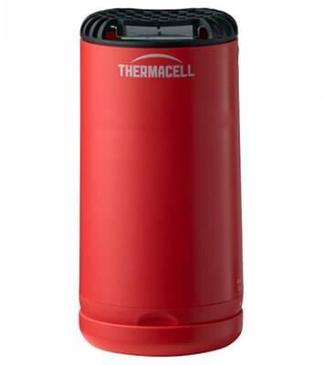 Отпугиватель комаров ThermaCELL Halo Mini Repeller Red (+ 1 газовый картридж и 3 пластины)