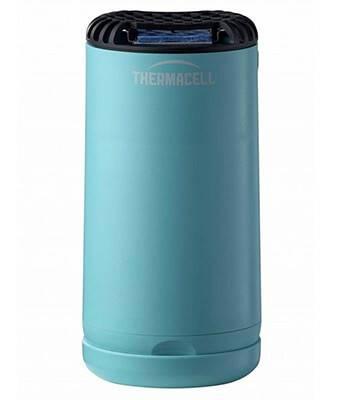 Отпугиватель комаров ThermaCELL Halo Mini Repeller Blue (+ 1 газовый картридж и 3 пластины)
